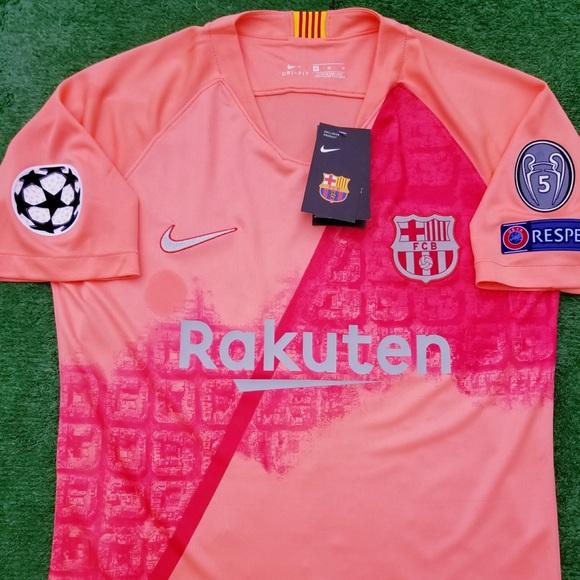 2018 19 Barcelona 3rd kit soccer jersey Messi Nike 9c3d41717